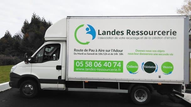 Landes Ressourcerie: recyclage et solidarité à Aire-sur-l'Adour
