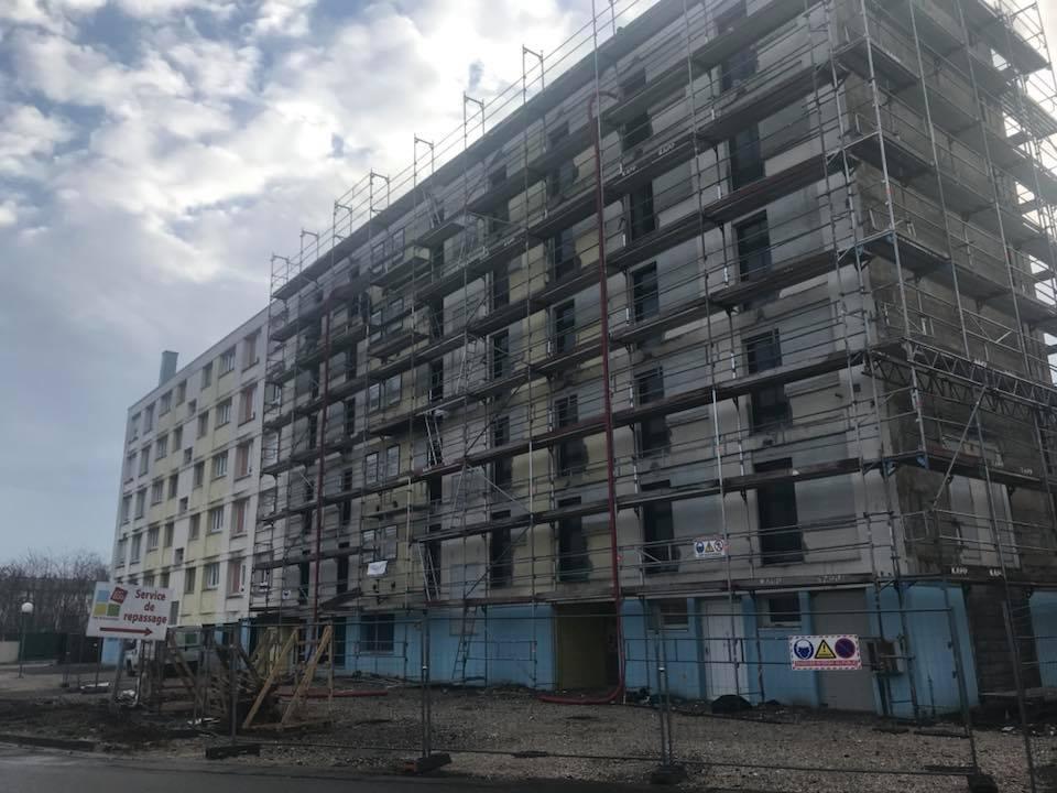 Restructuration d'une résidence sociale à Sochaux