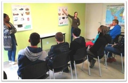 Un programme Unis-Cité qui permet aux jeunes de parler « Cash »