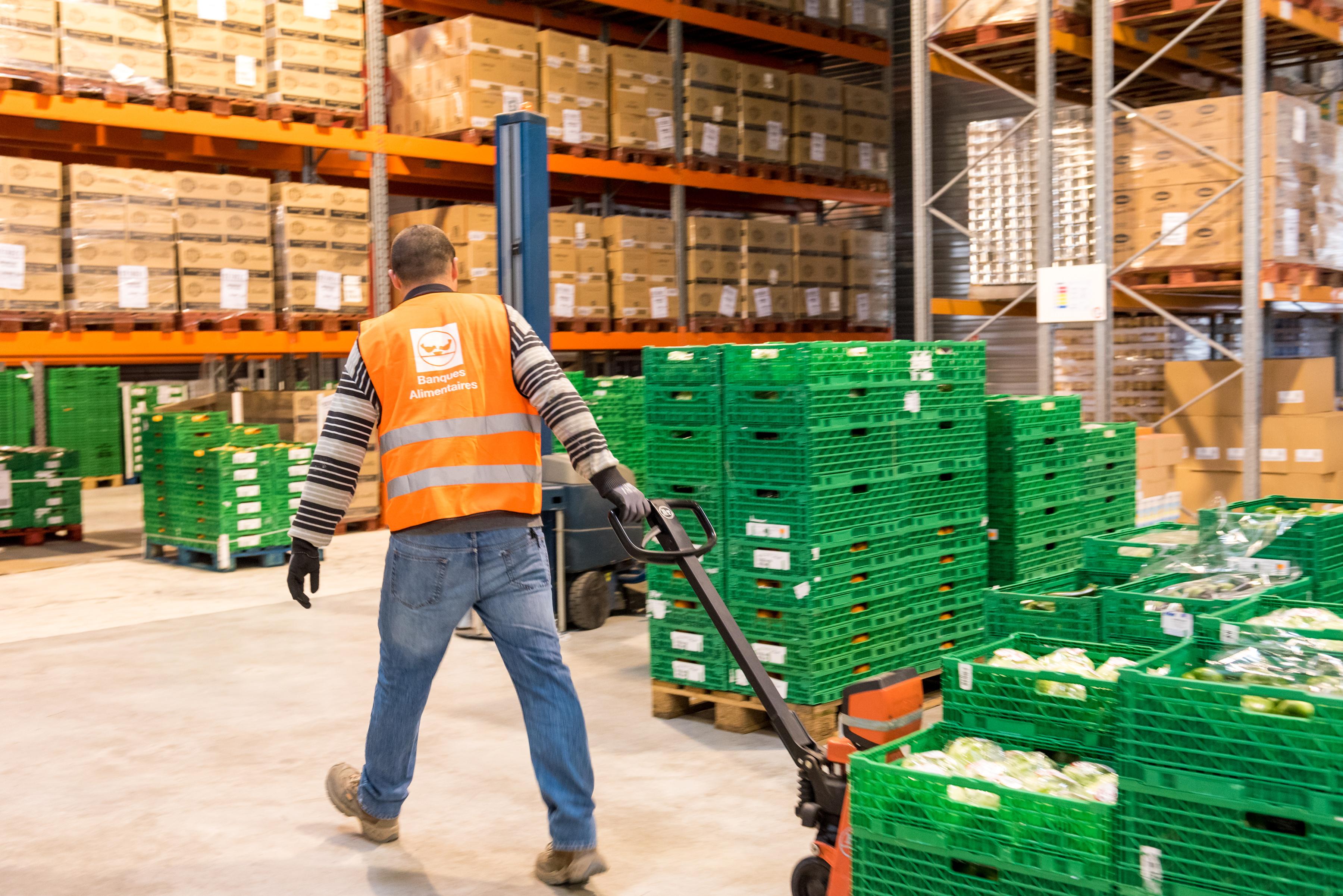Plus d'espace pour la Banque Alimentaire de Bourgogne