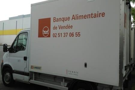 De nouveaux camions frigorifiques pour la Banque Alimentaire de Vendée